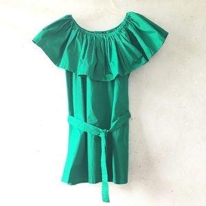 Simplee Apparel Ruffled Off The Shoulder Dress